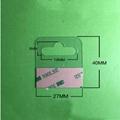 自粘透明PVC挂钩高粘飞机孔挂钩PET挂钩圆孔PP挂钩包装彩盒问号钩 8