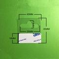 自粘透明PVC挂鉤高粘飛機孔挂鉤PET挂鉤圓孔PP挂鉤包裝彩盒問號鉤 11