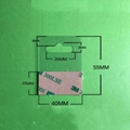 自粘透明PVC挂鉤高粘飛機孔挂鉤PET挂鉤圓孔PP挂鉤包裝彩盒問號鉤 14