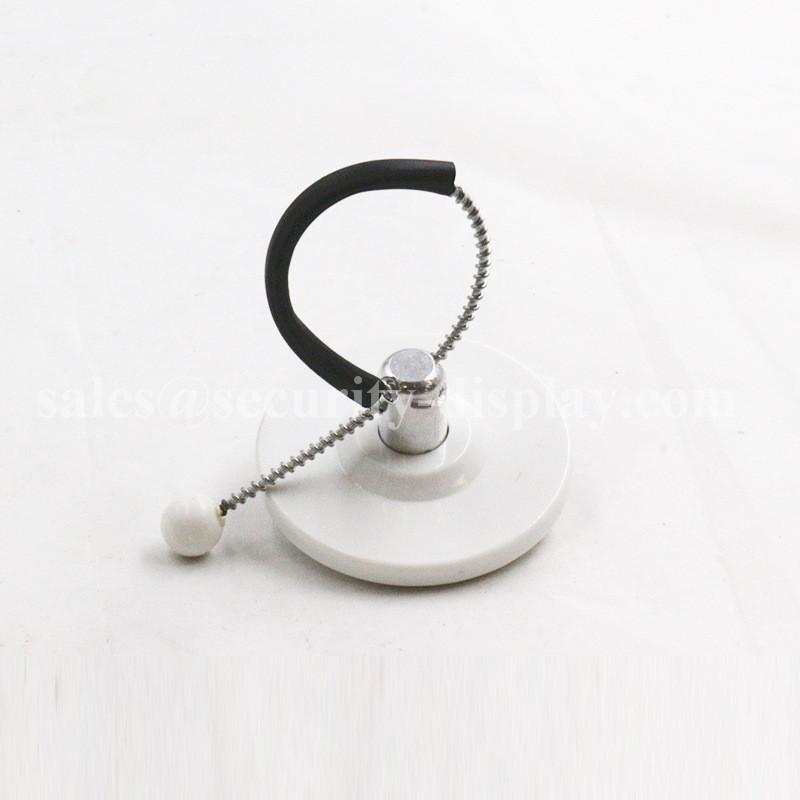EAS Round Metal Anti-theft Cable Bottle Tag 10