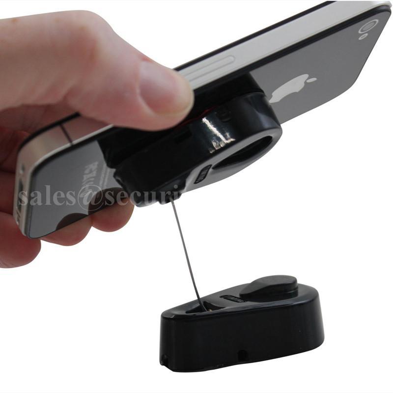 手机防盗拉线盒 自动伸缩钢丝绳 接线盒拉线器 手机防盗链展示拉线绳 3