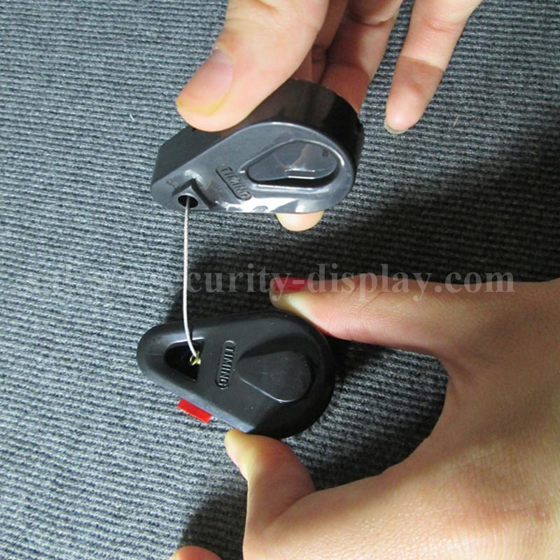 手机防盗拉线盒 自动伸缩钢丝绳 接线盒拉线器 手机防盗链展示拉线绳 13