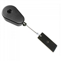 YOMO-094Teardrop Pullbox Anti Theft Tether with Sticky Dog Tag Endfitting