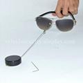 眼鏡展示防盜器 眼鏡防盜繩 伸