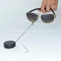 眼镜展示防盗器 眼镜防盗绳 伸缩防盗链 商品防盗器