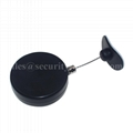 Plastic Round Anti-shoplifting Recoiler with loop end