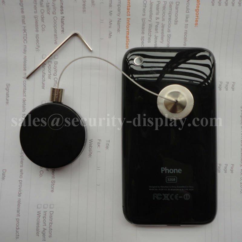 數碼配件防盜展示拉線盒 搖控防盜防丟拉線器  自動伸縮器 4