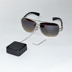 防盜伸縮拉線盒 商品演示展架防丟扣卷微型配件 方形拉線盒