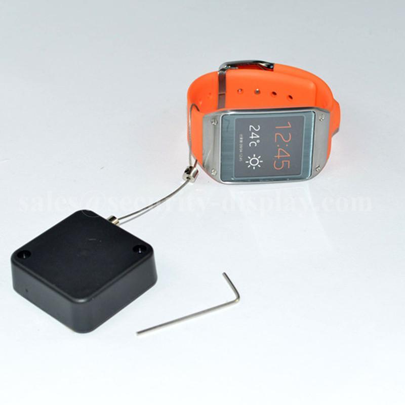 防盜伸縮拉線盒 商品演示展架防丟扣卷微型配件 方形拉線盒 3