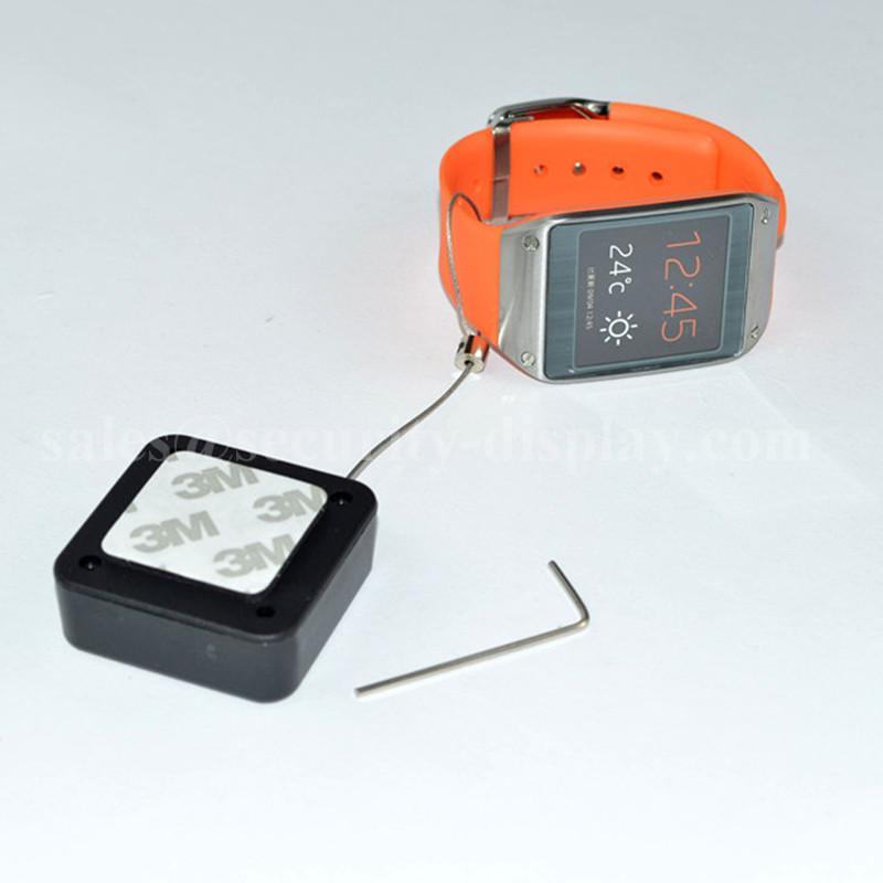 防盜伸縮拉線盒 商品演示展架防丟扣卷微型配件 方形拉線盒 4