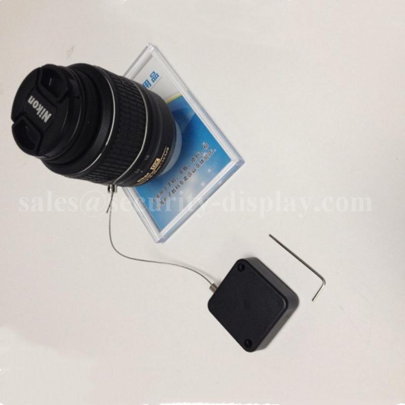 防盜伸縮拉線盒 商品演示展架防丟扣卷微型配件 方形拉線盒 5