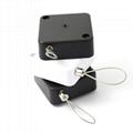 防盜伸縮拉線盒 商品演示展架防丟扣卷微型配件 方形拉線盒 12