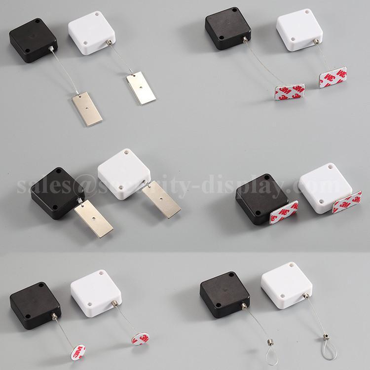 伸缩防盗拉线盒 小商品展示软胶端子 测试笔防盗器 化妆品防盗 5