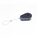 Tear Shape Anti-Theft Pull Box with Soft Label End