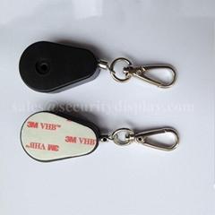 防盗拉线盒 商品展示防盗绳 钥匙扣