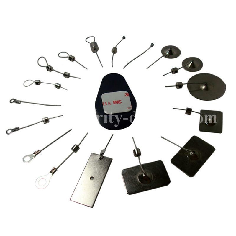 手机展示防盗架 防盗拉线盒 展示品防盗盒 自动伸缩卷线盒  2