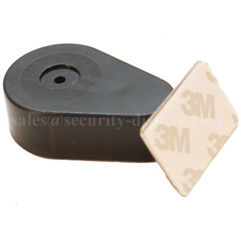 水滴型防盗展示拉线盒 超市商品展架防丢器 钢丝绳微型收线器 5