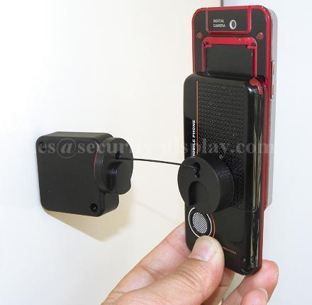 自动伸缩防盗拉线盒 伸缩防盗链锁扣 物理防盗展示线盒  7