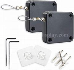 Automatic Door Closer Retractable Punch Free Automatic Sensor Door Closer