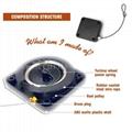 自動閉門器 伸縮拉線器 拉線盒 高強度回收力易拉扣 5