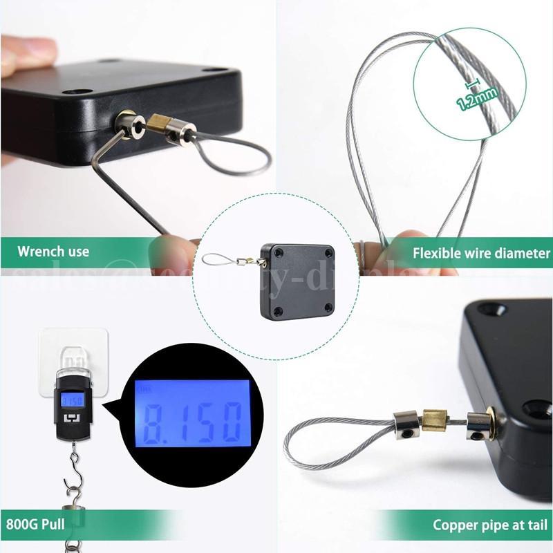 自動閉門器 伸縮拉線器 拉線盒 高強度回收力易拉扣 13
