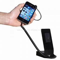 手機報警展示架托 充電功能三星 Iphone 手機防盜展示器