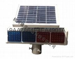 太陽能四燈爆閃燈