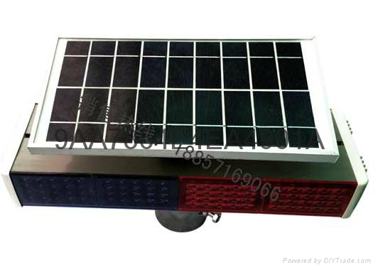 太陽能警示燈 1