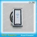 Metal RFID Wiegand Reader, No Keypad  2