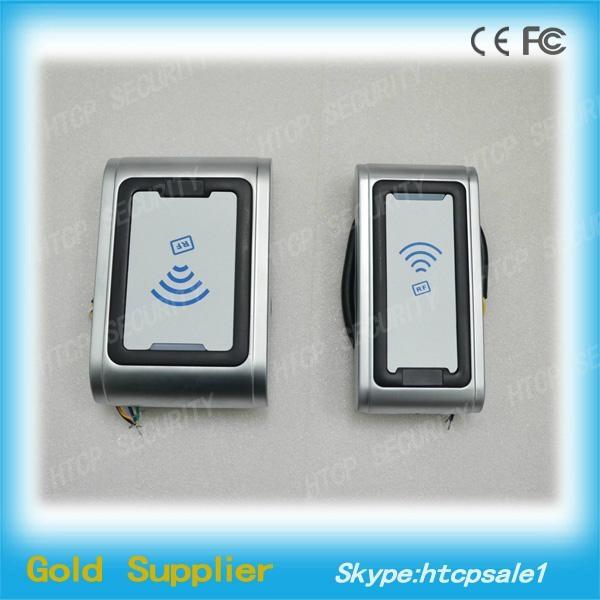 Metal RFID Wiegand Reader, No Keypad  4