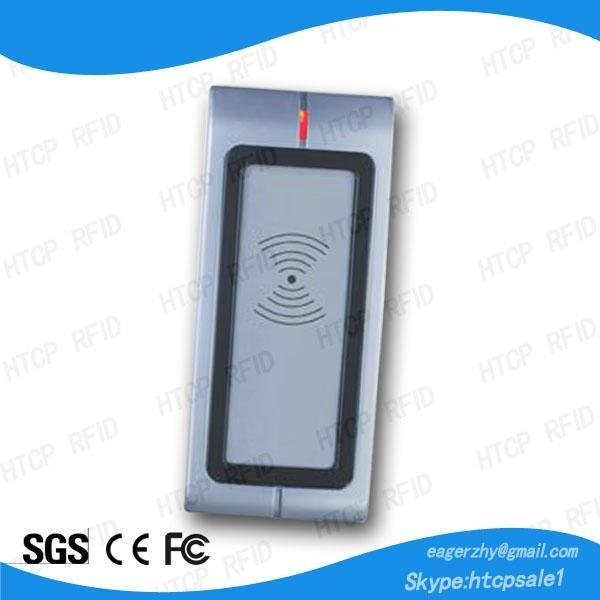 Metal RFID Wiegand Reader, No Keypad  1