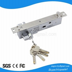 Fail secure sturdiness electric bolt with cylinder EL-500C