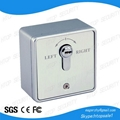 European type emergency release button with key EL-702EN