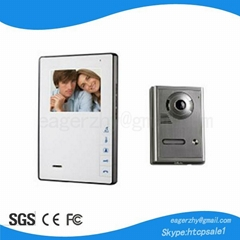 "Wireless Video Intercom System 4"" Color"