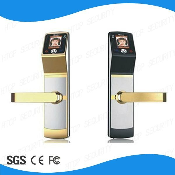 High identification speed Biometric Face Recognition sliding wooden door locks 1