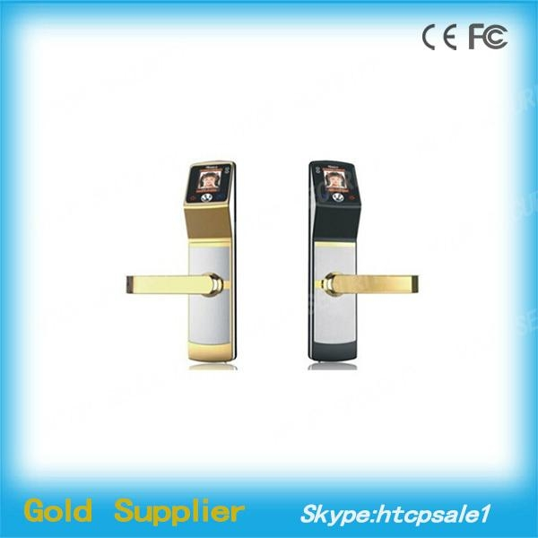 High identification speed Biometric Face Recognition sliding wooden door locks 2