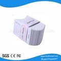Blank 125KHz RFID Clamshell card MFI RFID ID card for door control