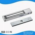 Zinc Single Door 280kg 600Lbs Electric Magnetic Lock wtih LED Indicator Light