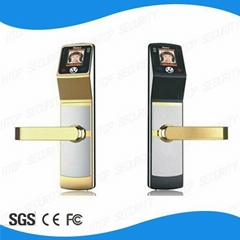 High level biometric facial recognition door lock