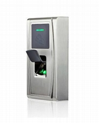 Metal outdoor Fingerprint Biometric Access Controller IP65