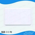 High quality 13.56MHZ frequency M1 compatible 1K TKS50 chip card with factory pr