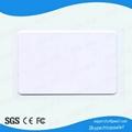 Blank ID access control card