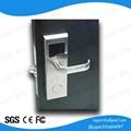 Ultra-luxury style RFid hotel lock 2