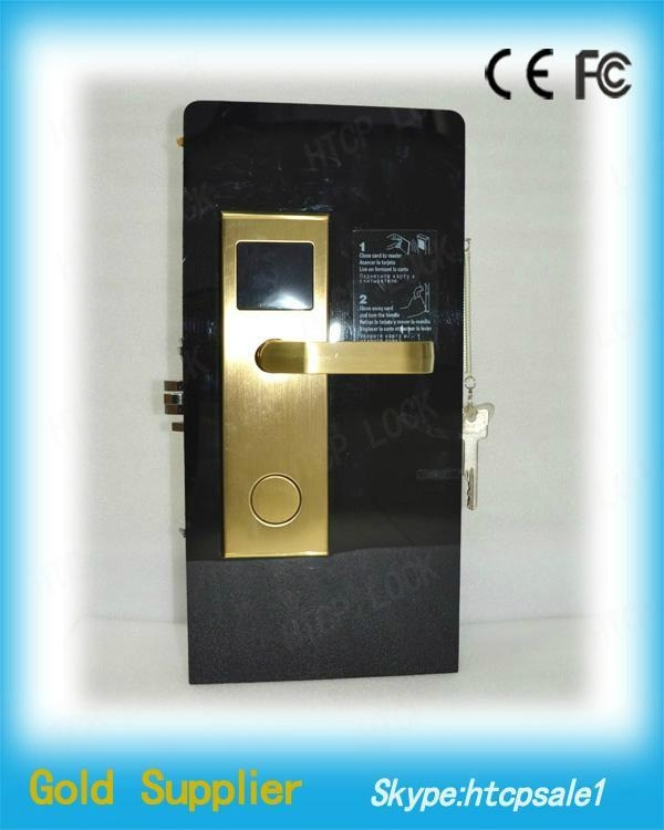 China hotel lock manufactuer FOX newest design hotel card lock with best price 1