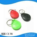 High quality 125khz rfid key tag with EM4200 chips free sample
