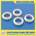 Ceramic ring for wire drawing machine