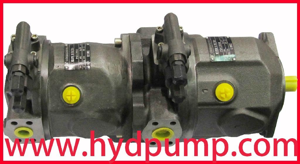 Brueninghaus Hydromatik Rexroth A10VSO Hydraulic Pump 3