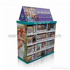 Cardboard Standing Display Rack, Cardboard Dump Bins, Cardboard Pallet Display