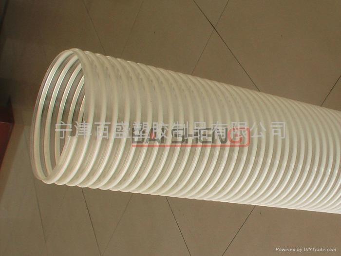 Dust extraction hose pusz baisheng china manufacturer