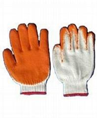 挂胶工作手套